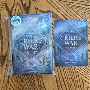 Owlcrate Crier's War Signed Book